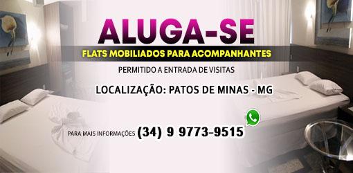 ALUGA SE FLATS MOBILLIADOS