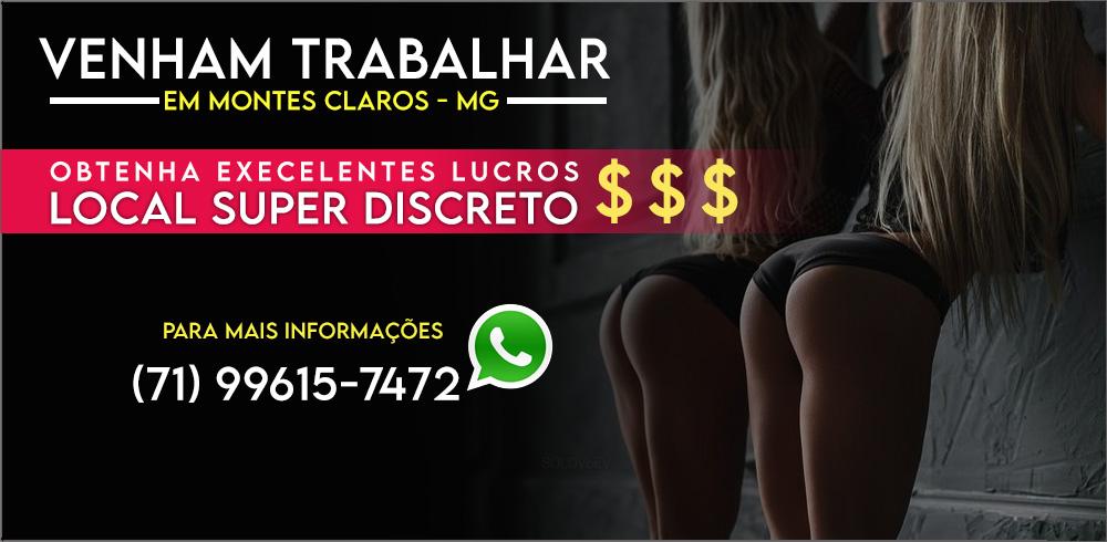 TRABALHAR EM MONTES CLAROS